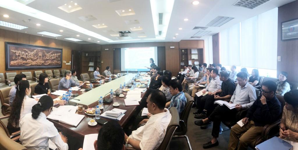 Toàn cảnh buổi họp giao ban tháng 11 của Tổng công ty Viglacera - CTCP